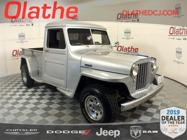 Pre-Owned 1949 Jeep Willys Truck